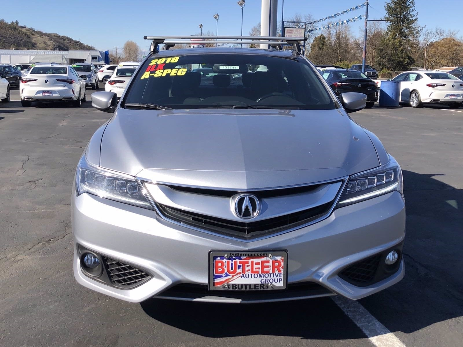 Acura ILX Premium And ASPEC Packages In Ashland OR Medford - 2018 acura tsx headlights
